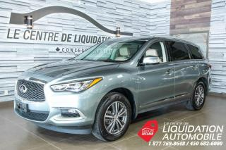 Used 2016 Infiniti QX60 MAGS,GR/ÉLECT,A/C,CAM/REC,TOIT,GPS,CUIR for sale in Laval, QC