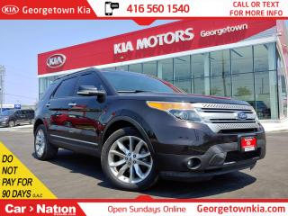 Used 2014 Ford Explorer XLT 4WD| ROOF| NAVI | BU CAM | P/GATE |NO ACCIDENT for sale in Georgetown, ON