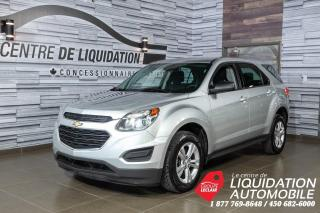 Used 2016 Chevrolet Equinox LS+MAGS+CAM. RECUL+BLUETOOTH+ONSTAR for sale in Laval, QC