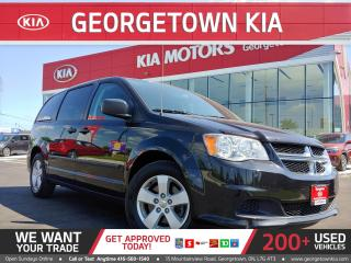 Used 2015 Dodge Grand Caravan CVP| ALLOYS| ALL WINDOWS OPERATE| 3RD ROW STO'N'GO for sale in Georgetown, ON