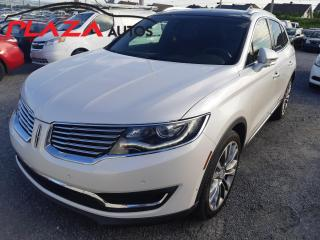 Used 2016 Lincoln MKX AWD 4dr Reserve, A QUI LA CHANCE for sale in Beauport, QC