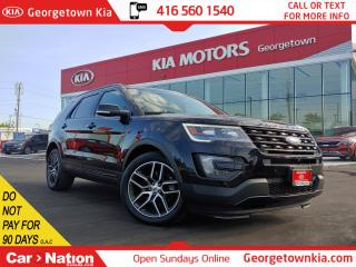 Used 2016 Ford Explorer Sport 4WD | LEATHER | NAVI | BU CAM | PANO ROOF for sale in Georgetown, ON
