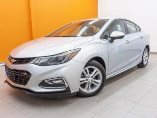 Used 2017 Chevrolet Cruze LT AUTOMATIQUE *CAMERA* SIEGES CHAUFFANTS *BAS KM for sale in St-Jérôme, QC