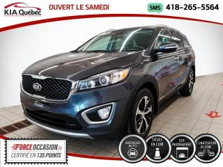 Used 2017 Kia Sorento EX+* V6* AWD* TOIT PANO* CUIR* CAMERA* for sale in Québec, QC