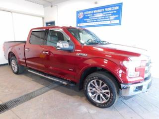 Used 2016 Ford F-150 LARIAT CREW LEATHER NAVI for sale in Listowel, ON