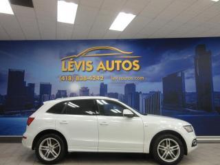Used 2013 Audi Q5 QUATTRO S-LINE 2.0L CUIR TOIT PANO TOUT for sale in Lévis, QC