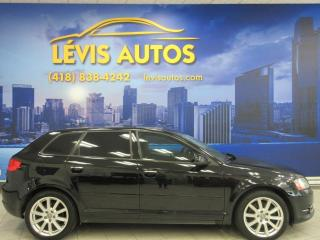 Used 2011 Audi A3 2.0T S-LINE CUIR CHAUFFANT AIR CLIMATISE for sale in Lévis, QC