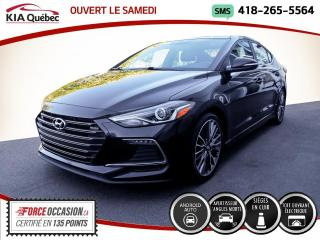 Used 2017 Hyundai Elantra SPORT* TURBO* TOIT* CUIR* CARPLAY* for sale in Québec, QC