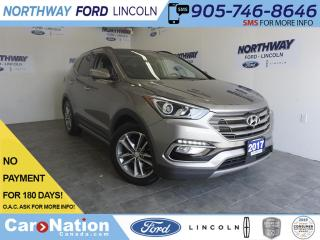 Used 2017 Hyundai Santa Fe Sport 2.0T Ultimate | AWD | LEATHER | PANO ROOF | NAV for sale in Brantford, ON