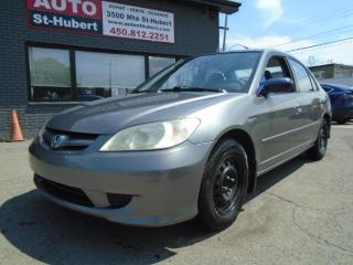 Used 2004 Honda Civic HONDA CIVIC LX AUTOMATIQUE 2004 for sale in St-Hubert, QC