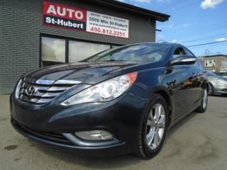 Used 2011 Hyundai Sonata HYUNDAI SONATA LIMITED 2011 for sale in St-Hubert, QC