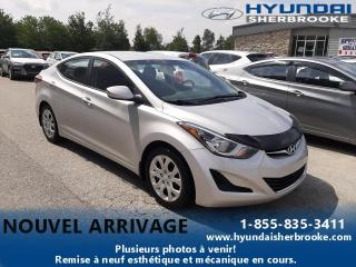 Used 2015 Hyundai Elantra GL+A/C+BANCS CHAUFF+BLUETOOTH+CRUISE for sale in Sherbrooke, QC