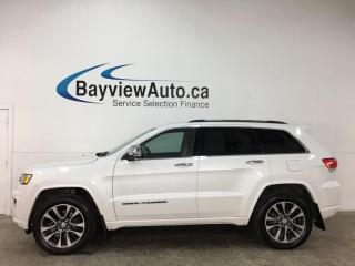 Used 2018 Jeep Grand Cherokee Overland - 4X4! DIESEL! NAV! HTD/COOLED LTHR! PANOROOF! LOADED! for sale in Belleville, ON