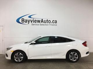 Used 2018 Honda Civic LX - 6SPD! REVERSE CAM! PWR GROUP! for sale in Belleville, ON