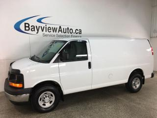 Used 2017 Chevrolet Express 2500 1WT - RWD! A/C! ONLY 40,000KMS! for sale in Belleville, ON