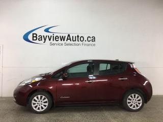Used 2016 Nissan Leaf SV - LOW KMS! REVERSE CAM! HTD SEATS! PWR GROUP! for sale in Belleville, ON