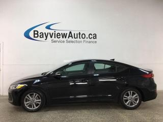 Used 2017 Hyundai Elantra GL - AUTO! HTD SEATS! REVERSE CAM! ALLOYS! + MORE! for sale in Belleville, ON