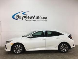 Used 2019 Honda Civic LX - AUTO! HATCH! ALLOYS! + MORE! for sale in Belleville, ON