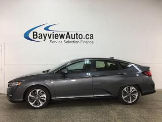 Used 2019 Honda Clarity Plug-In Hybrid - AUTO! HTD 1/2 LTHR! HONDA LINK! ADAPTIVE CRUISE! + MUCH MORE! for sale in Belleville, ON
