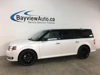 Used 2019 Ford Flex SEL - AWD! HTD LEATHER! ROOF! NAV! for sale in Belleville, ON