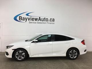 Used 2018 Honda Civic LX - AUTO! A/C! PWR GROUP! + MORE! for sale in Belleville, ON