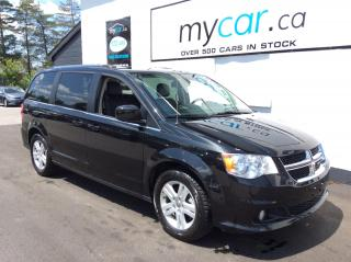 Used 2019 Dodge Grand Caravan Crew LEATHER, DVD, NAV, HEATED SEATS, PWR DOORS!! for sale in Richmond, ON
