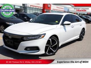 Used 2018 Honda Accord Sport 2.0 for sale in Whitby, ON