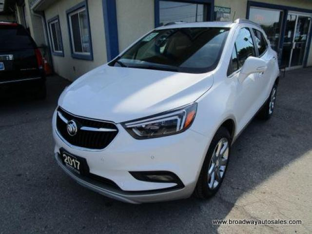 2017 Buick Encore ALL-WHEEL DRIVE PREMIUM MODEL 5 PASSENGER 1.4L - TURBO.. NAVIGATION.. LEATHER.. HEATED SEATS.. POWER SUNROOF.. BACK-UP CAMERA.. BOSE AUDIO..
