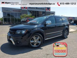 Used 2017 Dodge Journey Crossroad   - Leather Seats 7 passanger AWD - $153 B/W for sale in Ottawa, ON