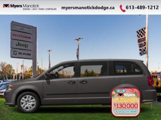 New 2020 Dodge Grand Caravan SXT  - Dual Zone AC - $181 B/W for sale in Ottawa, ON