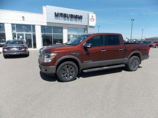Used 2017 Nissan Titan Platinum Reserve for sale in Lethbridge, AB