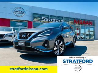 Used 2020 Nissan Murano SL for sale in Stratford, ON