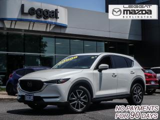 Used 2018 Mazda CX-5 GT- AWD, LEATHER, MOONROOF, BOSE, BLUETOOTH, REAR CAMERA for sale in Burlington, ON