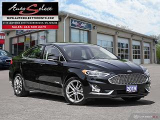Used 2019 Ford Fusion Hybrid Titanium ONLY 52K! **TECHNOLOGY PKG** CLEAN CARPROOF for sale in Scarborough, ON