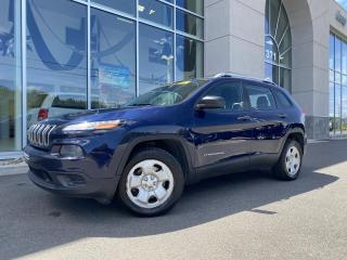Used 2015 Jeep Cherokee Sport 4X4 BANC CHAUFFANT for sale in Ste-Agathe-des-Monts, QC