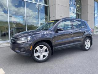 Used 2016 Volkswagen Tiguan Comfortline 4  MOTION KEYLESS MAG 19 POU for sale in Ste-Agathe-des-Monts, QC