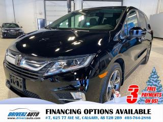Used 2020 Honda Odyssey EX-L RES ADAPTIVE CRUISE,LANE KEEPING, DVDs for sale in Calgary, AB