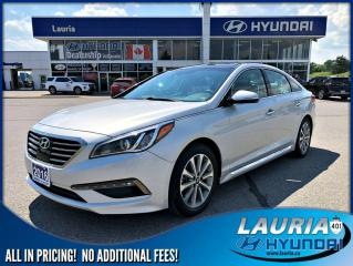 Used 2016 Hyundai Sonata 2.4L Limited - LOADED! for sale in Port Hope, ON