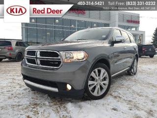 Used 2012 Dodge Durango Crew Plus, AWD, Alpine Audio System, Navigation, Auto Climate Co for sale in Red Deer, AB