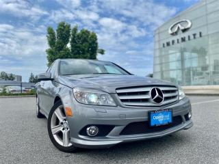 Used 2010 Mercedes-Benz C-Class 4MATIC Sedan for sale in Langley, BC