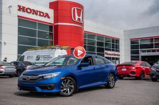 Used 2017 Honda Civic GARANTIE LALLIER MOTO-PROPULSEUR 10ANS/200,000 KIL PLUS DE 75 CIVIC USAGES PRETES POUR LIVRAISON RAPIDE for sale in Terrebonne, QC