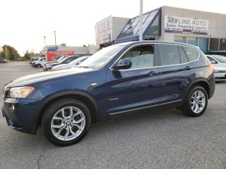 Used 2011 BMW X3 xDrive28i PANORAMIC CAMERA NAVIGATION CERTIFIED for sale in Concord, ON