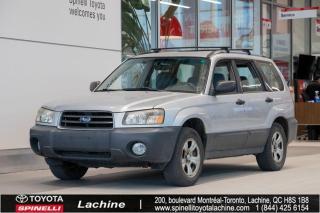 Used 2005 Subaru Forester 2.5X BAS MILEAGE!! TEL QUEL for sale in Lachine, QC
