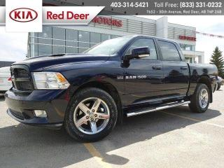 Used 2012 RAM 1500 SPORT for sale in Red Deer, AB