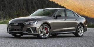 New 2020 Audi A4 Sedan TECHNIK for sale in Winnipeg, MB