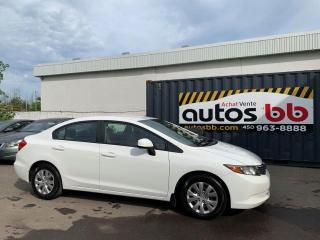 Used 2012 Honda Civic for sale in Laval, QC