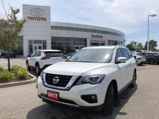 Used 2017 Nissan Pathfinder SL ONE OWNER - ACCIDENT FREE for sale in Stouffville, ON