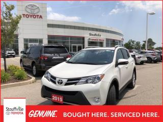 Used 2015 Toyota RAV4 Limited LIMITED TECHNOLOGY PACKAGE - REAR CROSS TRAFFIC ALERT - BACKUP SENSORS for sale in Stouffville, ON