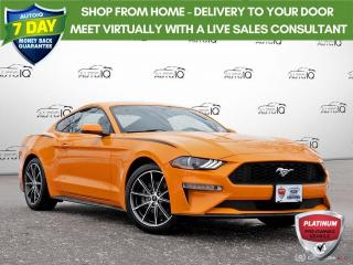Used 2018 Ford Mustang EcoBoost Premium   ONE OWNER   NO ACCIDENTS   REAR PARKING CAMERA   for sale in Barrie, ON
