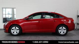 Used 2012 Chevrolet Cruze LT + TURBO + A/C + CRUISE + WOW ! for sale in Trois-Rivières, QC